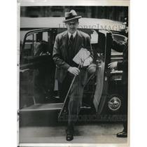 1939 Press Photo Count Edward Raczynski, Polish Ambassador to England