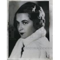 1934 Press Photo Jean Wingfield - nee13951