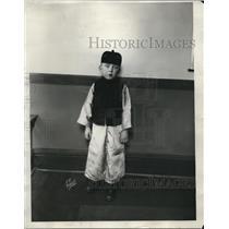 1928 Press Photo Leonard Furman Age 6 of Chicago - nee21426