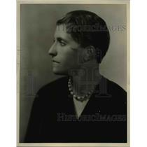 1929 Press Photo Joziena Van Der Ende Contralto Crooner
