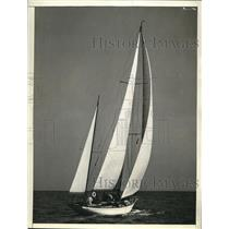 1937 Press Photo Mandoo II Wins Miami-Nassau Race - nee18472
