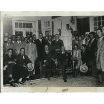 1929 Press Photo Mexico City Congressional committee & Pres Hon Ortiz Rubio