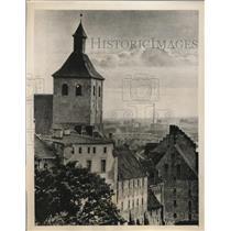 1939 Photo town hall building Grudziaz Poland after German conquest