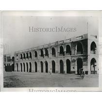 1935 Press Photo Massawa Eritrea Italian colony in Africa, war supplies landed