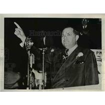 1940 Press Photo Louisiana Senator James A. Noe  - nee26091