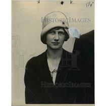 1928 Press Photo Mrs LV Bereber  - nee26583