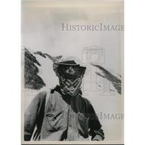 1938 Press Photo Andy W. Kramer of Chicago Joins Canadian Mountain Climbers