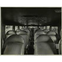 1928 Press Photo The interior Pickwick Bus - nee24394