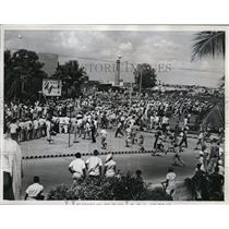 1961 Press Photo Santa Dominican People to See American States Investigators
