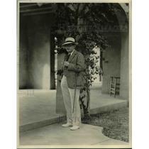 1923 Press Photo Ray Long