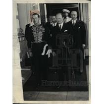 1936 Press Photo Count George Potocki, Polish Ambassador to U.S. - nee26669