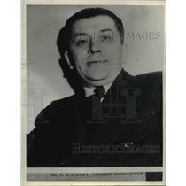 1938 Press Photo B G Gebert  - nee24306