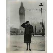 1941 Press Photo Mrs. Beatrice Rathbone - nee29190