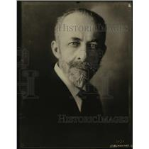 1923 Press Photo Professor E. De Margerie, noted geologist of Stradsburg France