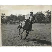 1931 Press Photo Devereaux Milburn polo player at LI NY - nes27975