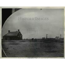 1938 Press Photo The O'Daniels boyhood home in Arlington Kansas - nee25951