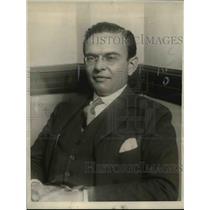 1923 Press Photo Jean de Chadeneres - nee37110