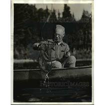 1941 Press Photo Fishing at Ontario Canada - nee38415