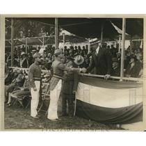 1926 Press Photo Penn Military College graduating day & Sec. War Dwight Davis
