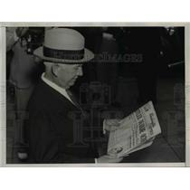 1938 Press Photo Norman Davis, American Red Cross chairman - nee29673