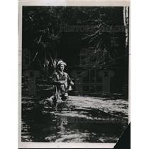 1935 Press Photo Jack Redhead  - nee28015