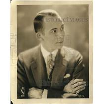 1927 Press Photo Charles H Gabriel Musical Director Of WGN Station