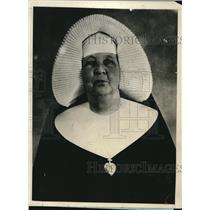 1925 Press Photo Sister St Mary of Cyprian 72 yeas old, Loyola University