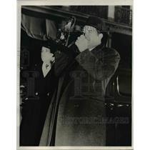 1940 Press Photo Louisiana Senator James A. Noe with Camera - nee26569