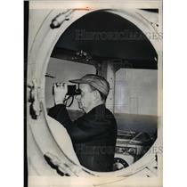 1949 Press Photo Francis P Matthews&Franklin D Roosevelt,Orientation Course, WA
