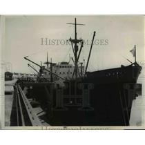 1939 Press Photo Loonhaven Before It Was Sunk - nee35819