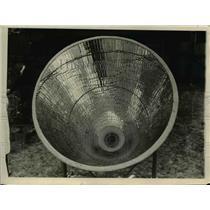 1924 Press Photo Metal Melting Machine - nee32884