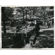 1942 Press Photo American Women's Volunteer Services Canteen in DC - nee33535