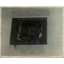 1928 Press Photo The Plane's Reed Indicators for Radio Aircraft Beacon
