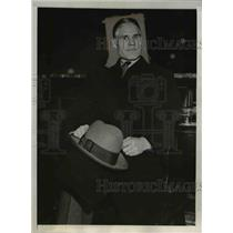 1932 Press Photo Ivan Boleff Soviet undersecretary Foreign Trade aboard S.S.