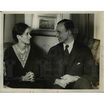 1929 Press Photo James Roosevelt son of Governor Roosevelt of New York.