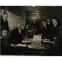 1926 Press Photo A Campbell, Cady Henrick, William van Zandt, BM Cohen, JL Egan