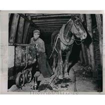 1951 Press Photo The France Coal Mine - nee25993