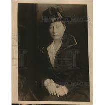 "1918 Press Photo Maude Wetmore ""Congress of National Service"" solve war problems"