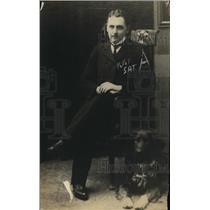 1917 Press Photo Walter Schuman-Heink, son of Ernestine Schumann-Heink Contralto