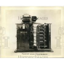 1930 Press Photo Population Automatic Tabulating Machine for Census - nee33706