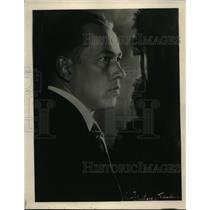 1926 Press Photo Baritone Reinald Werrenrath