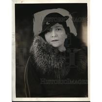 1932 Press Photo Elsa Lazareff Directed Dangerous Corner