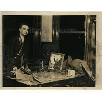 1931 Press Photo Dr Giovanni Giurato Italian consul at Pittsburgh Pa