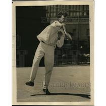1926 Press Photo Mason Rudolph in a track meet