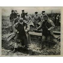 1939 Press Photo Somewhere in France Britains War Minsiter Leslie Hore Belisha