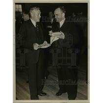 1938 Press Photo Mr. A.C. Boilston and Dean Frank C. Whitmore . - nee47491