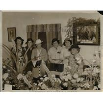 1938 Press Photo Bermuda Garden Club Hamilton Bermuda - nee44407