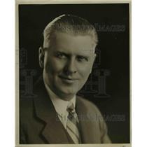 1929 Press Photo Freeman H Talbot, KOA Manager. - nee45745
