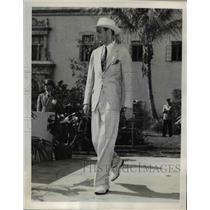 1930 Press Photo New York City Hats of tomorrow shown at Florida Exhibit