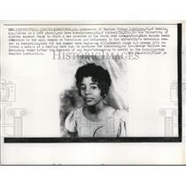 1963 Press Photo Birmingham Ala Admission of Vivian J Malone to Univ. to Alabama